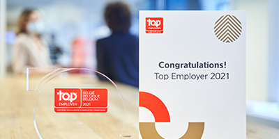 Top Employer prize 2021
